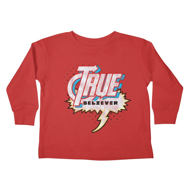 True Believer - Avenged Flavor Kids Toddler Longsleeve T-Shirt by Gamma Bomb - A Celebration of Imagination