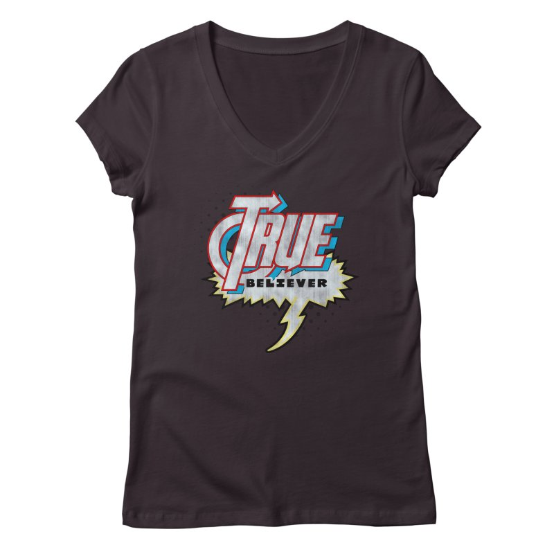 True Believer - Avenged Flavor Women's V-Neck by Gamma Bomb - A Celebration of Imagination