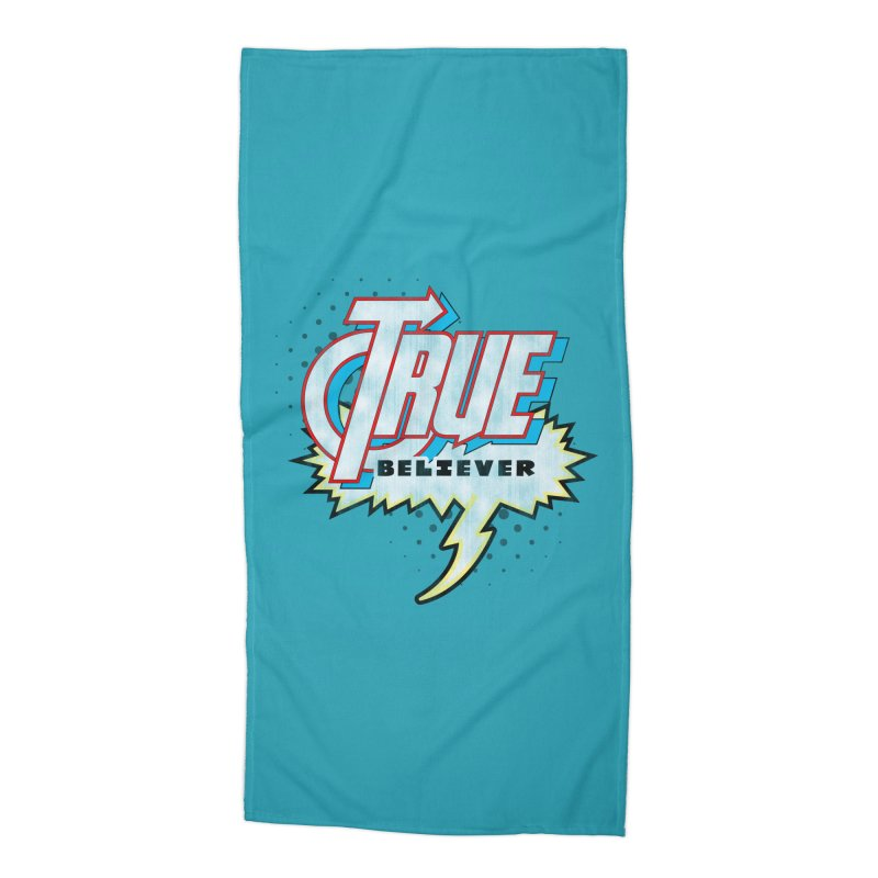 True Believer - Avenged Flavor Accessories Beach Towel by Gamma Bomb - A Celebration of Imagination