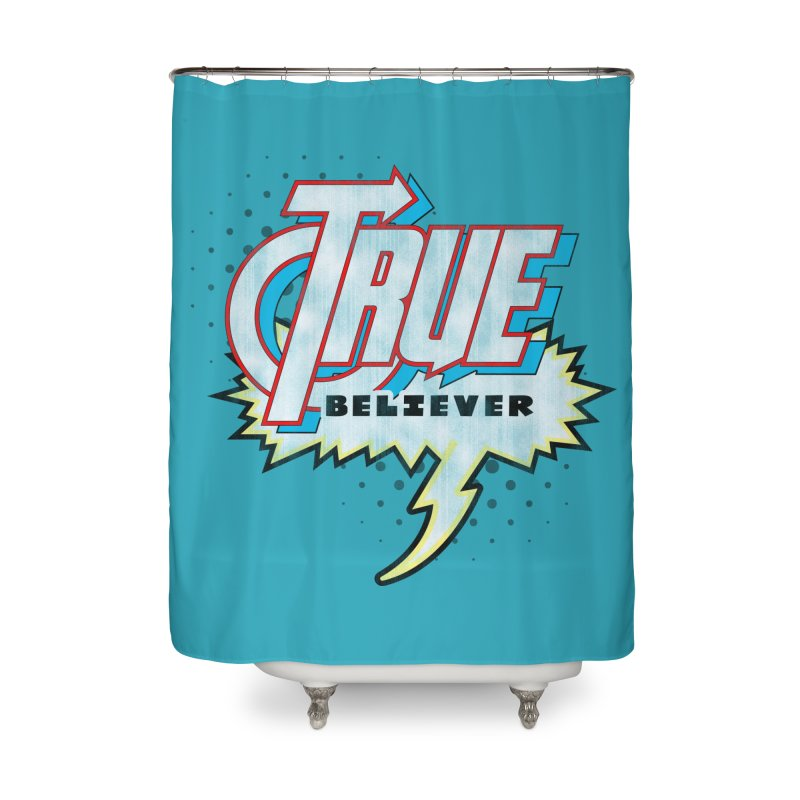 True Believer - Avenged Flavor Home Shower Curtain by Gamma Bomb - A Celebration of Imagination