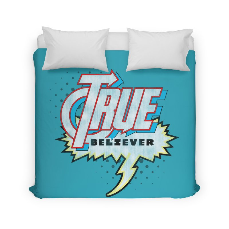 True Believer - Avenged Flavor Home Duvet by Gamma Bomb - A Celebration of Imagination