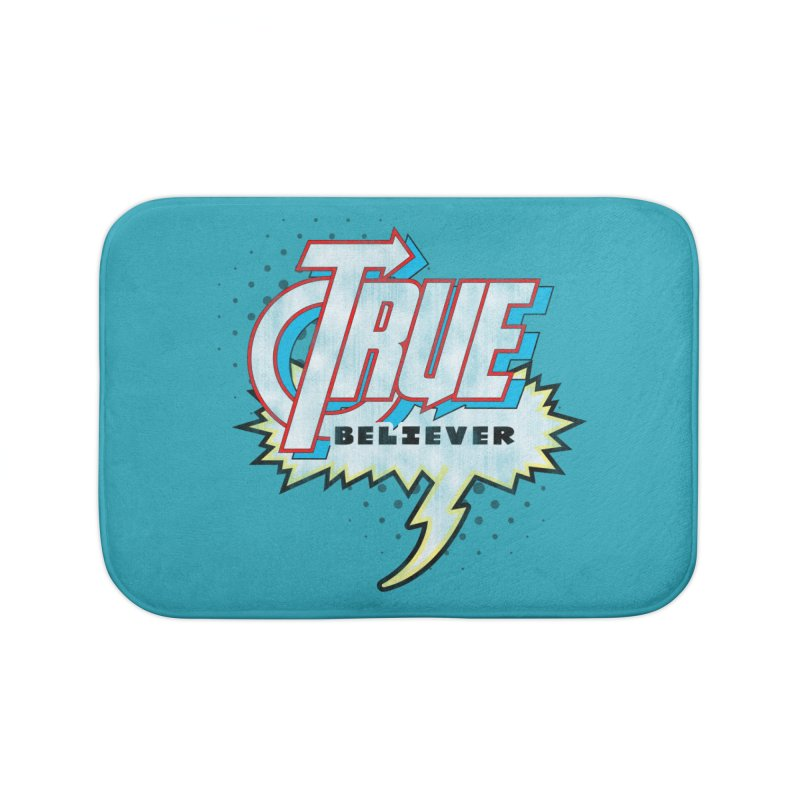 True Believer - Avenged Flavor Home Bath Mat by Gamma Bomb - A Celebration of Imagination