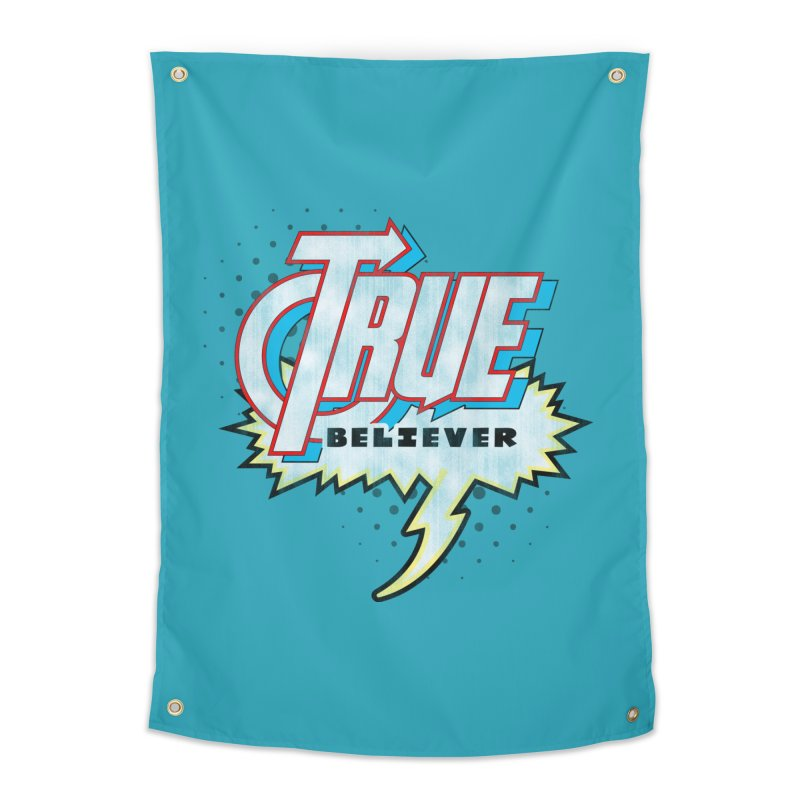 True Believer - Avenged Flavor Home Tapestry by Gamma Bomb - A Celebration of Imagination
