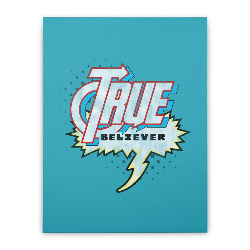 True Believer - Avenged Flavor Home Stretched Canvas by Gamma Bomb - A Celebration of Imagination