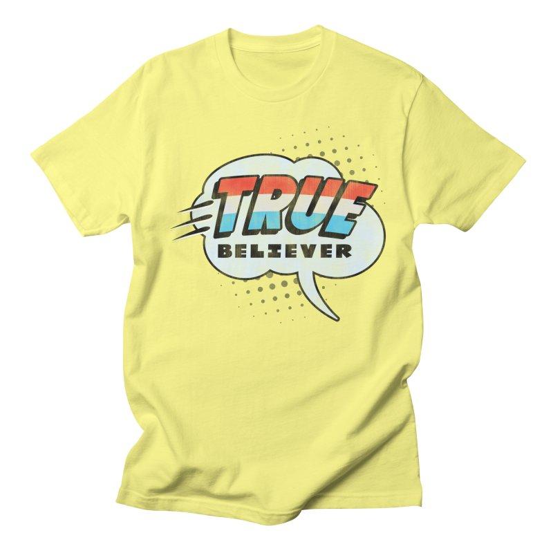 True Believer - Merica Flavor Women's Unisex T-Shirt by Gamma Bomb - A Celebration of Imagination