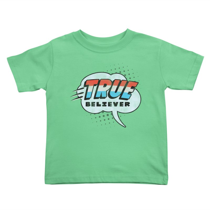 True Believer - Merica Flavor Kids Toddler T-Shirt by Gamma Bomb - A Celebration of Imagination