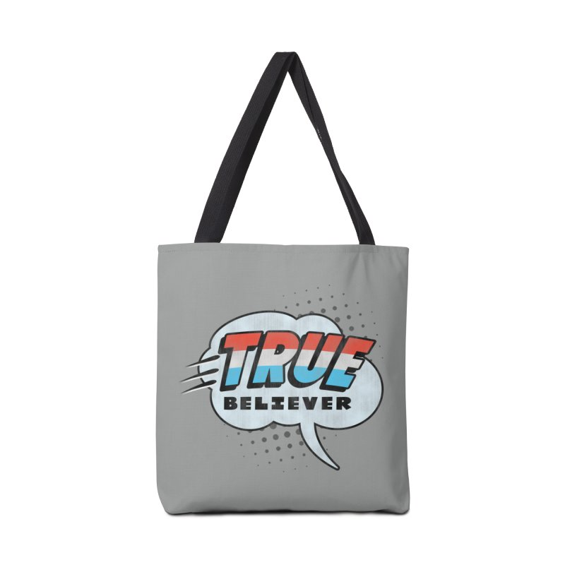 True Believer - Merica Flavor Accessories Tote Bag Bag by Gamma Bomb - Explosively Mutating Your Look