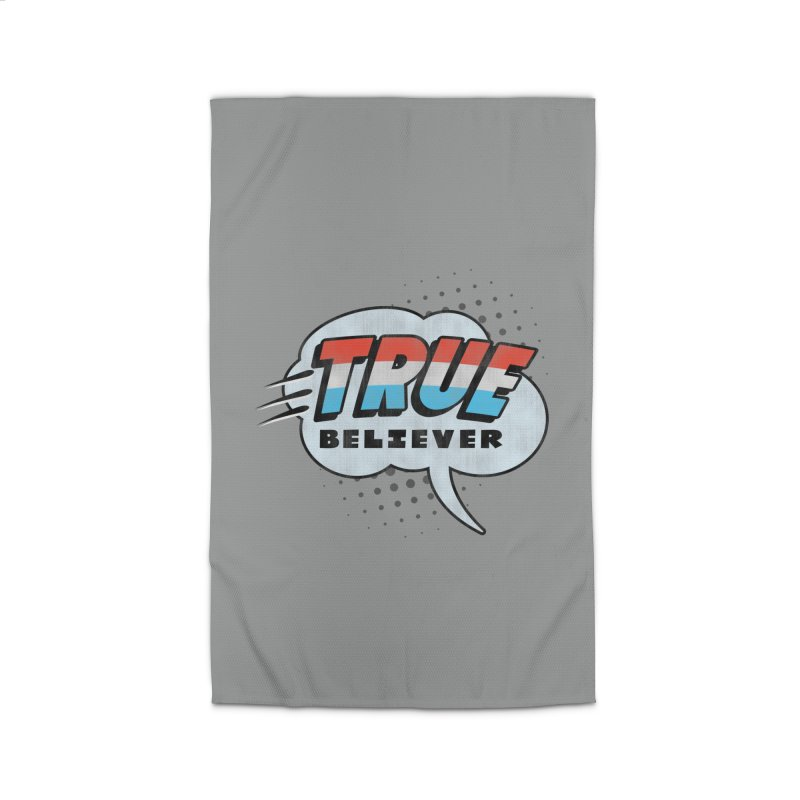 True Believer - Merica Flavor Home Rug by Gamma Bomb - A Celebration of Imagination