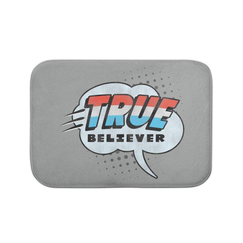 True Believer - Merica Flavor Home Bath Mat by Gamma Bomb - A Celebration of Imagination