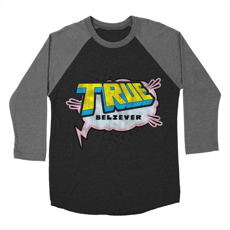 True Believer - Uncanny Flavor Women's Baseball Triblend T-Shirt by Gamma Bomb - A Celebration of Imagination