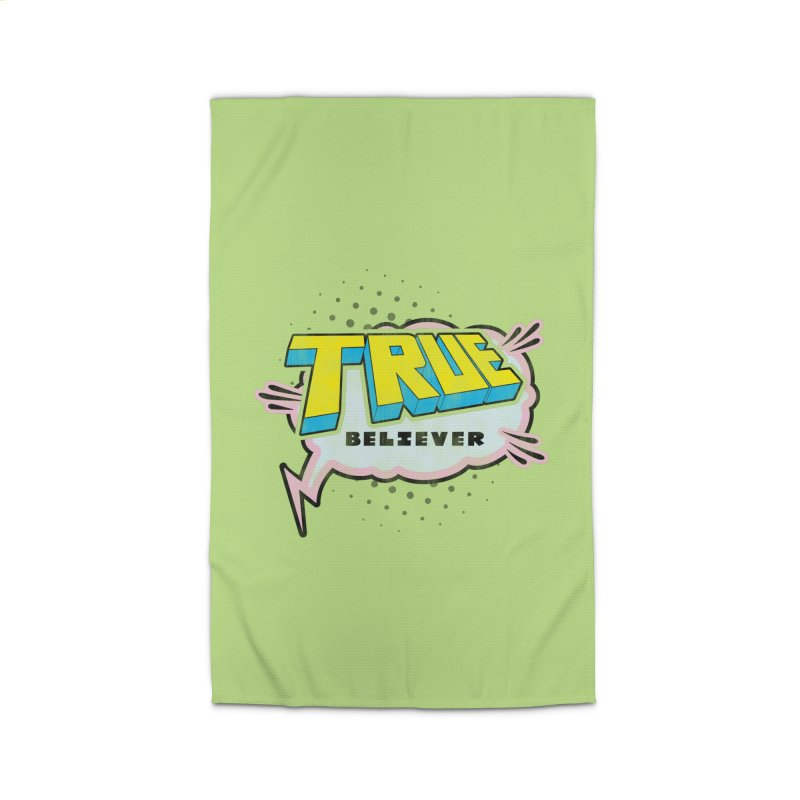 True Believer - Uncanny Flavor Home Rug by Gamma Bomb - A Celebration of Imagination