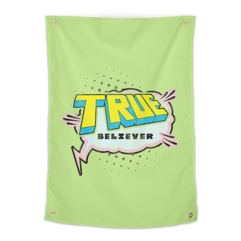 True Believer - Uncanny Flavor Home Tapestry by Gamma Bomb - A Celebration of Imagination