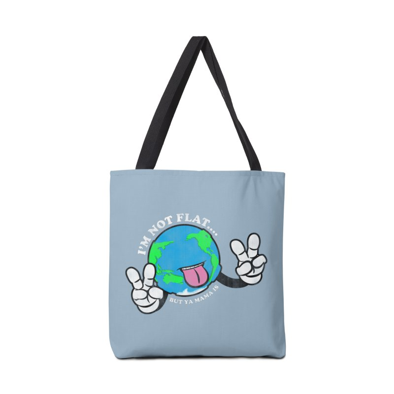 I'm Not Flat Accessories Tote Bag Bag by Gamma Bomb - Explosively Mutating Your Look