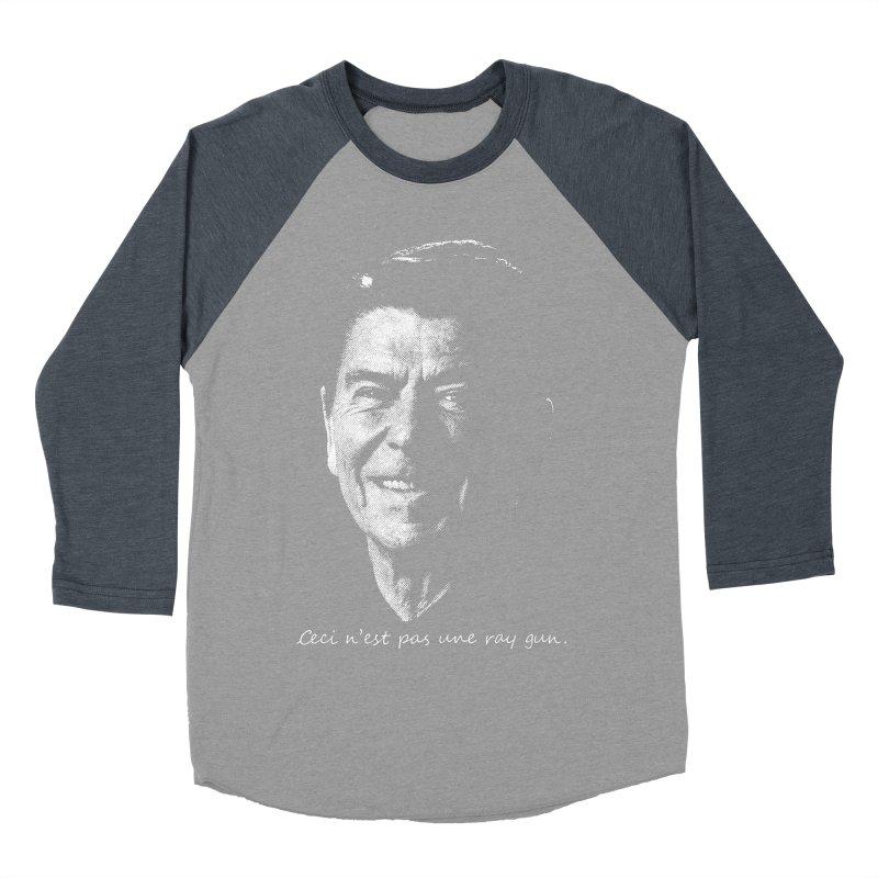 Ceci n'est une ray gun. Men's Baseball Triblend Longsleeve T-Shirt by Gamma Bomb - A Celebration of Imagination