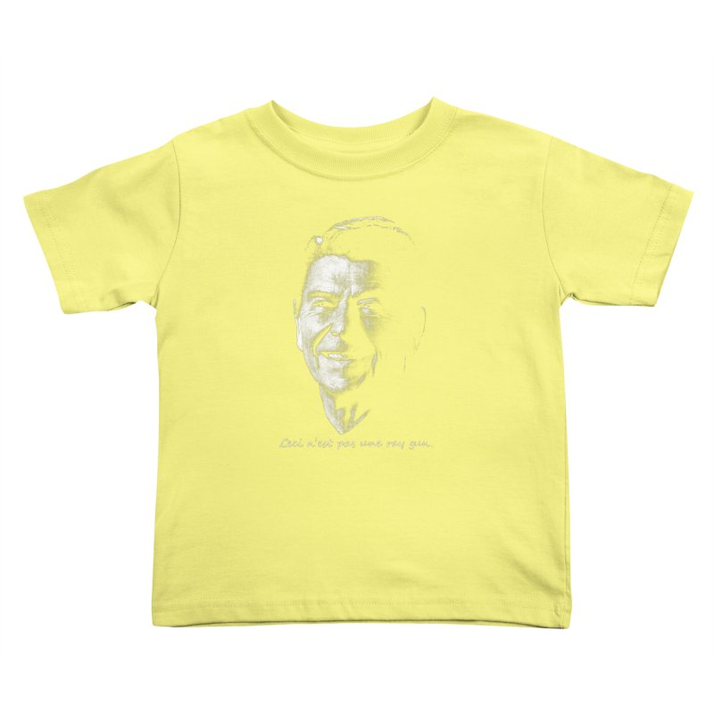 Ceci n'est une ray gun. Kids Toddler T-Shirt by Gamma Bomb - A Celebration of Imagination
