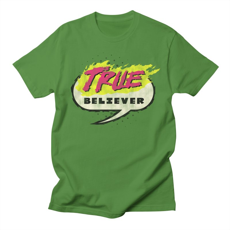 True Believer - Vengeance Flavor Men's Regular T-Shirt by Gamma Bomb - A Celebration of Imagination