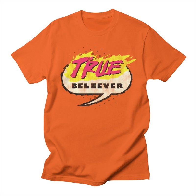 True Believer - Vengeance Flavor Women's Regular Unisex T-Shirt by Gamma Bomb - A Celebration of Imagination