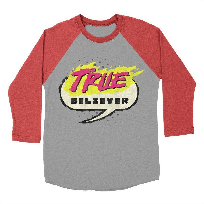True Believer - Vengeance Flavor Women's Baseball Triblend Longsleeve T-Shirt by Gamma Bomb - Explosively Mutating Your Look