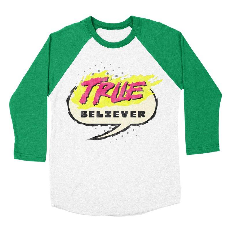 True Believer - Vengeance Flavor Men's Baseball Triblend Longsleeve T-Shirt by Gamma Bomb - A Celebration of Imagination