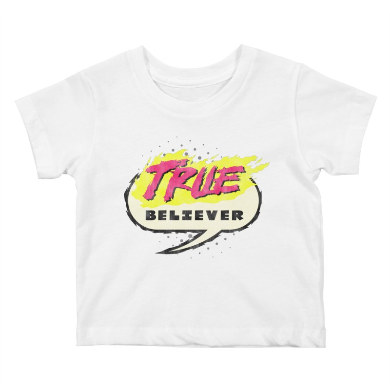 True Believer - Vengeance Flavor Kids Baby T-Shirt by Gamma Bomb - A Celebration of Imagination