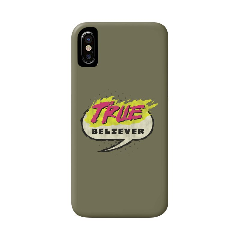True Believer - Vengeance Flavor Accessories Phone Case by Gamma Bomb - A Celebration of Imagination