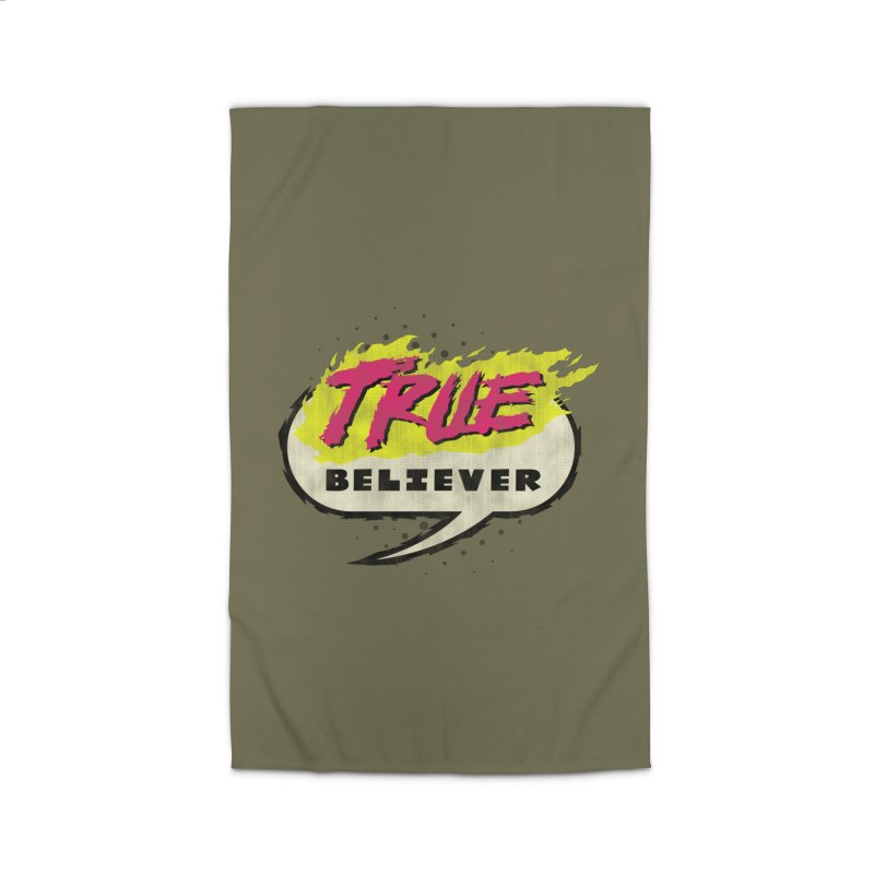 True Believer - Vengeance Flavor Home Rug by Gamma Bomb - A Celebration of Imagination