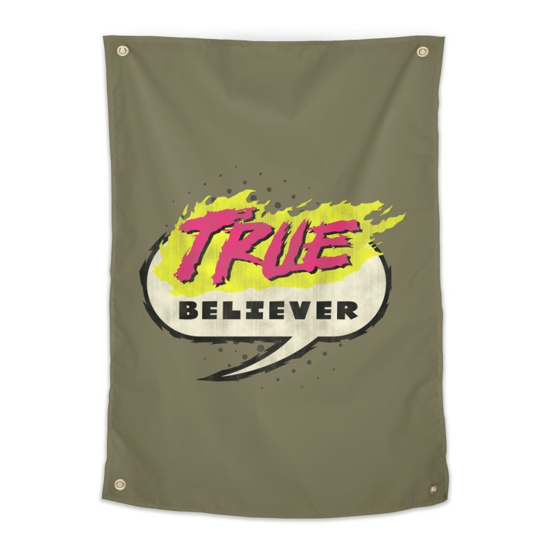 True Believer - Vengeance Flavor Home Tapestry by Gamma Bomb - A Celebration of Imagination