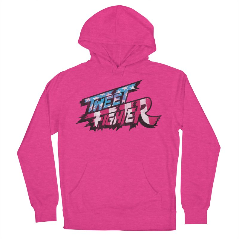 Tweet Fighter - Freedom Flavor Women's French Terry Pullover Hoody by Gamma Bomb - A Celebration of Imagination
