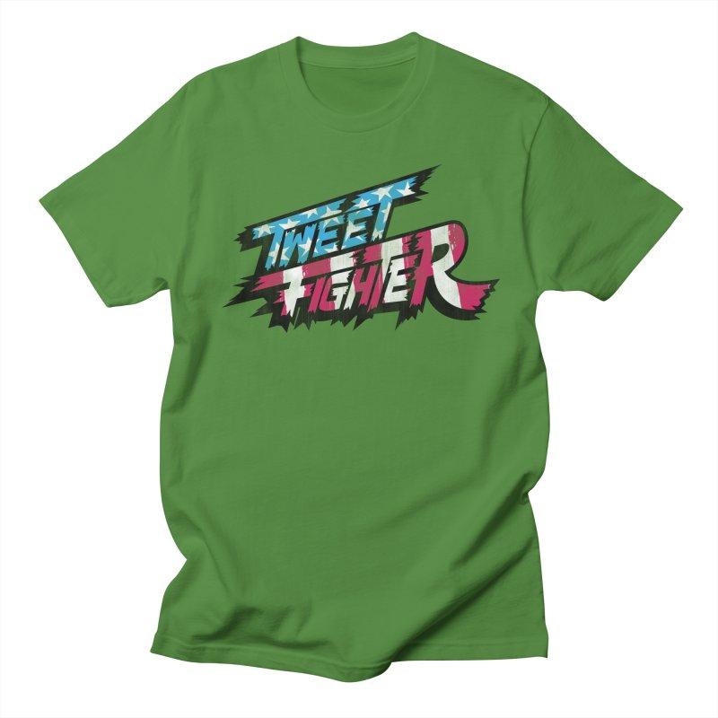 Tweet Fighter - Freedom Flavor Women's Regular Unisex T-Shirt by Gamma Bomb - A Celebration of Imagination