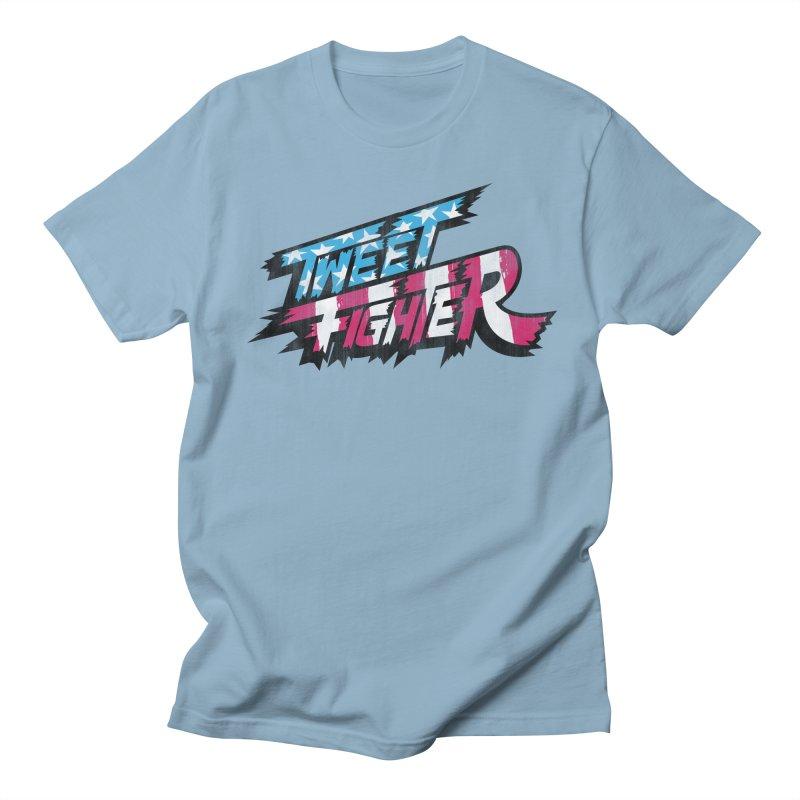 Tweet Fighter - Freedom Flavor Men's Regular T-Shirt by Gamma Bomb - A Celebration of Imagination