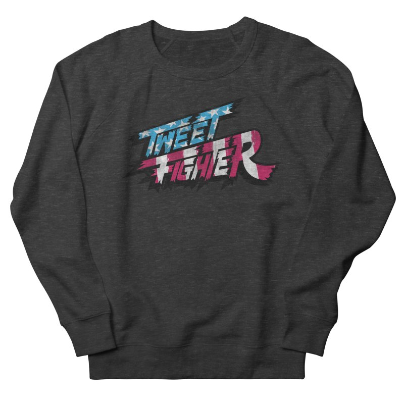 Tweet Fighter - Freedom Flavor Women's French Terry Sweatshirt by Gamma Bomb - A Celebration of Imagination