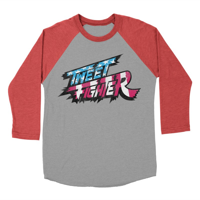 Tweet Fighter - Freedom Flavor Women's Baseball Triblend Longsleeve T-Shirt by Gamma Bomb - Explosively Mutating Your Look