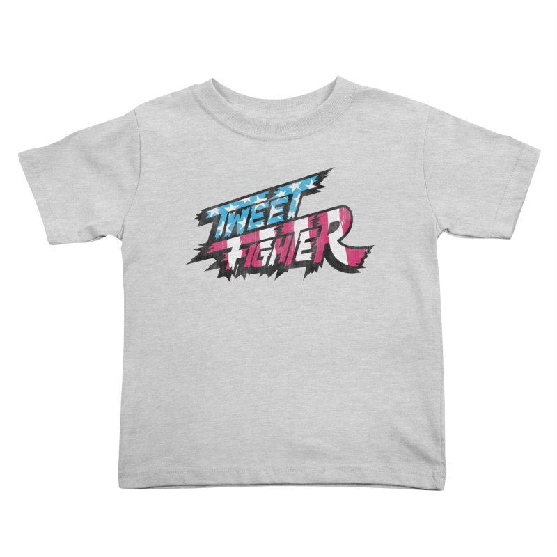 Tweet Fighter - Freedom Flavor Kids Toddler T-Shirt by Gamma Bomb - A Celebration of Imagination