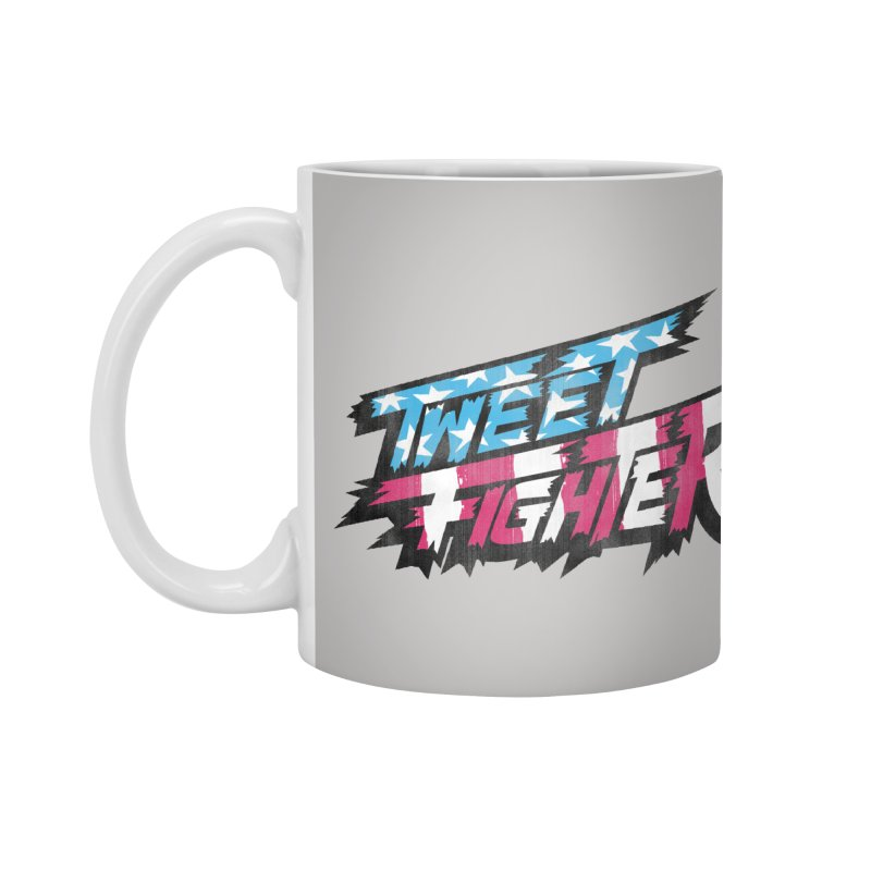 Tweet Fighter - Freedom Flavor Accessories Mug by Gamma Bomb - Explosively Mutating Your Look