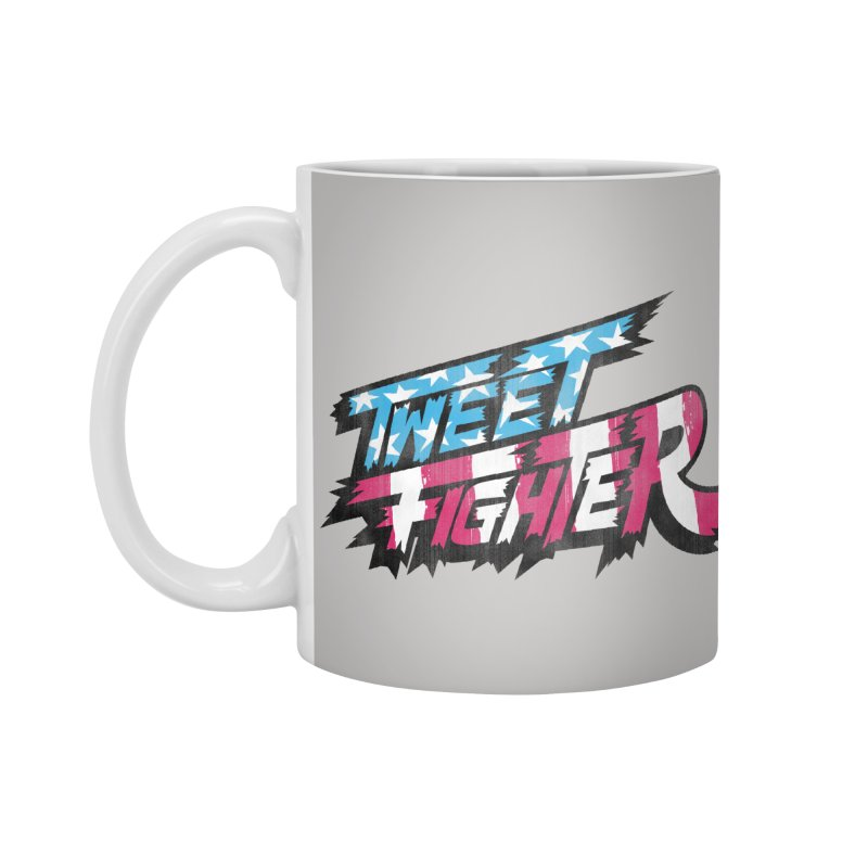 Tweet Fighter - Freedom Flavor Accessories Mug by Gamma Bomb - A Celebration of Imagination