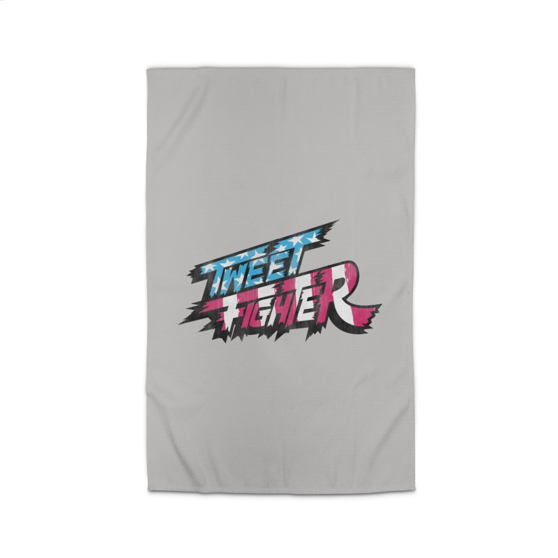 Tweet Fighter - Freedom Flavor Home Rug by Gamma Bomb - A Celebration of Imagination