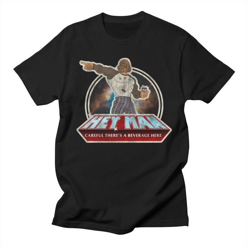 Hey Man Men's Regular T-Shirt by Gamma Bomb - A Celebration of Imagination