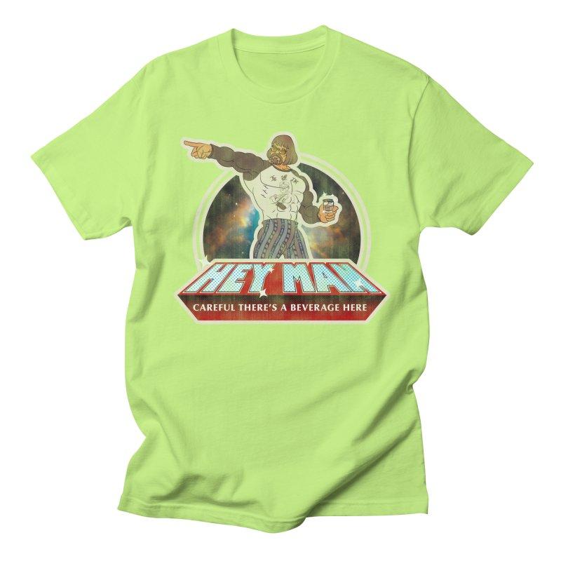 Hey Man Women's Regular Unisex T-Shirt by Gamma Bomb - A Celebration of Imagination