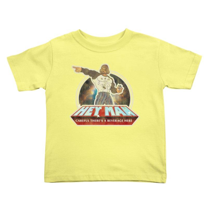 Hey Man Kids Toddler T-Shirt by Gamma Bomb - A Celebration of Imagination