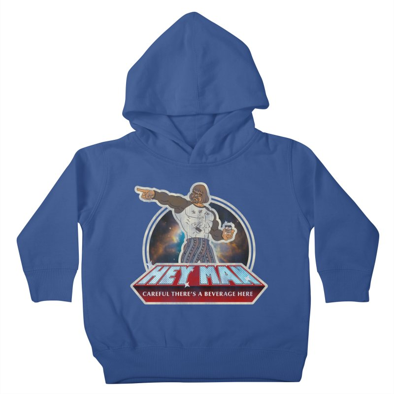 Hey Man Kids Toddler Pullover Hoody by Gamma Bomb - A Celebration of Imagination