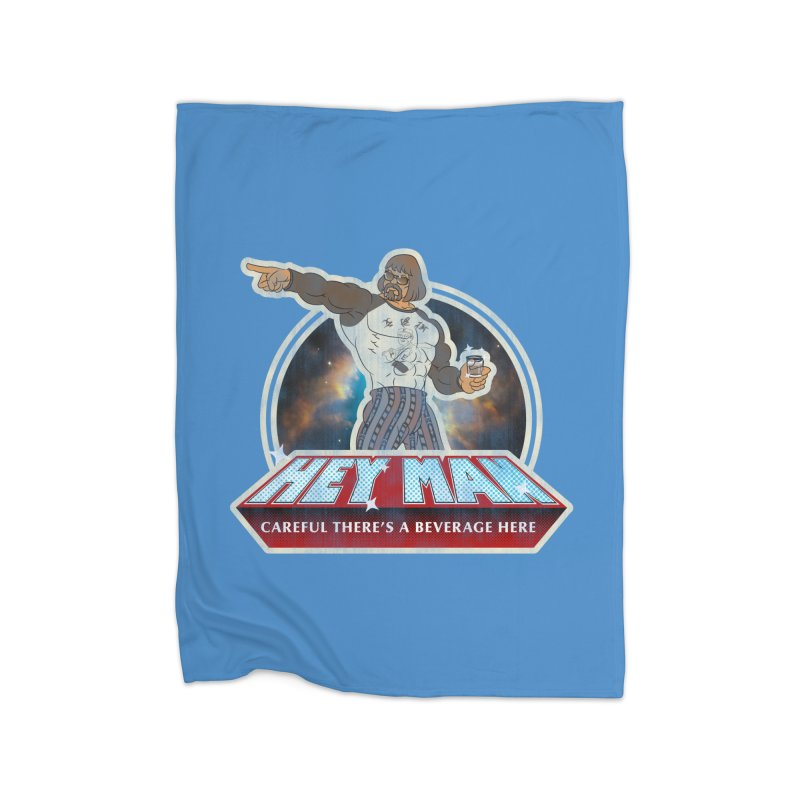 Hey Man Home Blanket by Gamma Bomb - A Celebration of Imagination