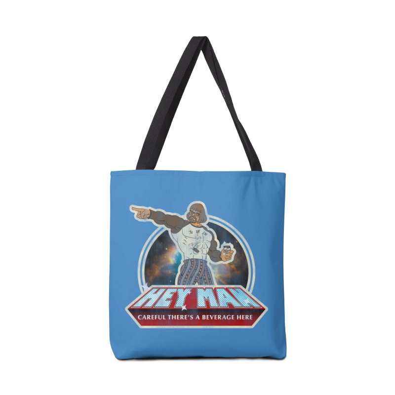 Hey Man Accessories Tote Bag Bag by Gamma Bomb - Explosively Mutating Your Look