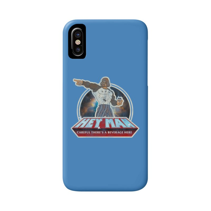 Hey Man Accessories Phone Case by Gamma Bomb - A Celebration of Imagination