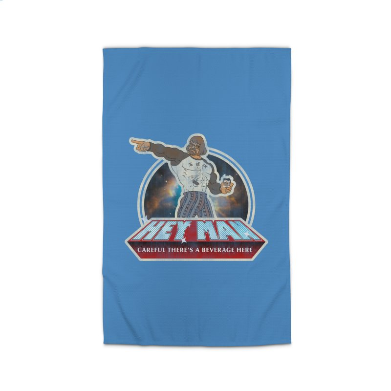 Hey Man Home Rug by Gamma Bomb - A Celebration of Imagination