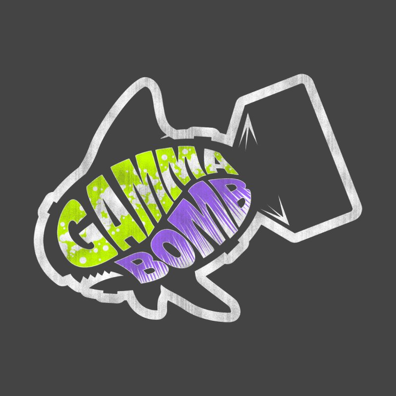 Gamma Bomb Logo Accessories Bag by Gamma Bomb - Explosively Mutating Your Look