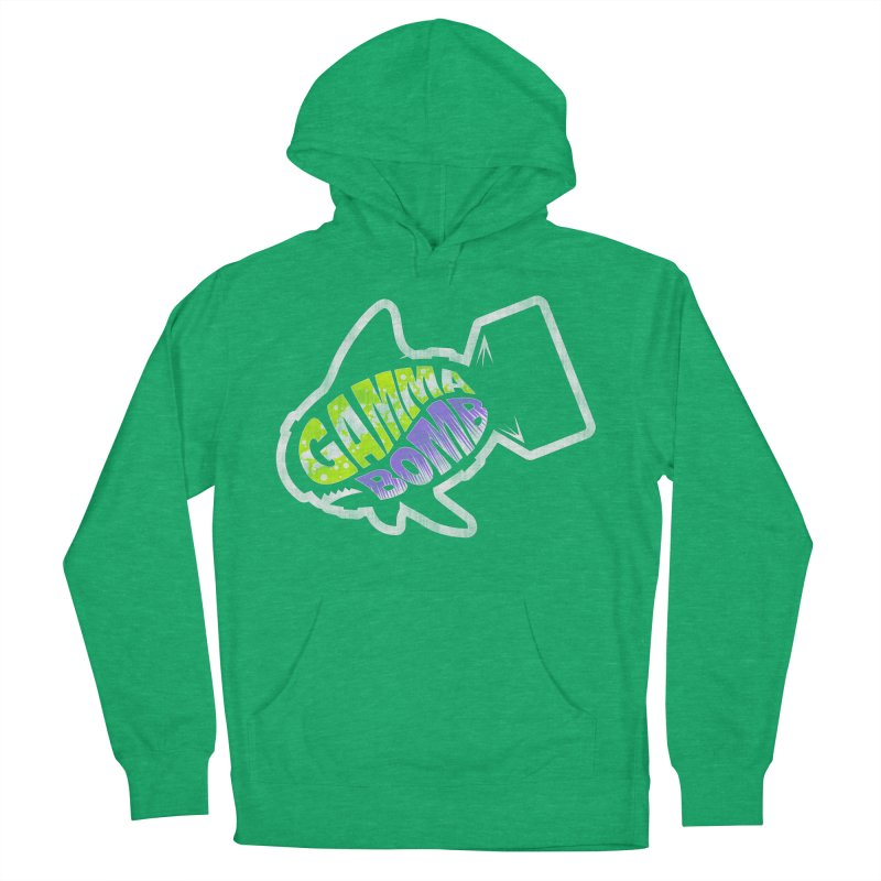 Gamma Bomb Logo Women's French Terry Pullover Hoody by Gamma Bomb - A Celebration of Imagination