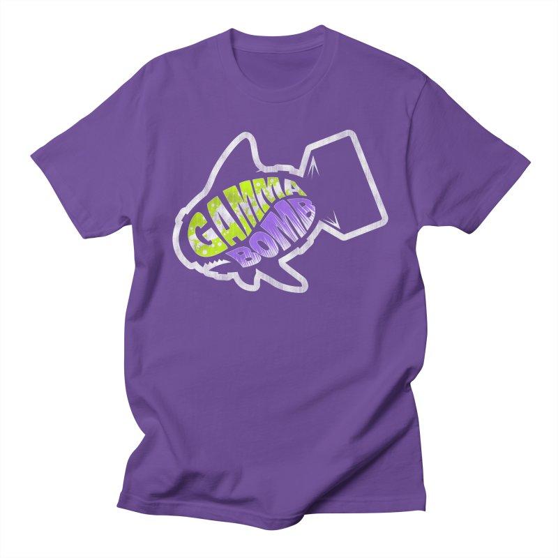 Gamma Bomb Logo Women's Regular Unisex T-Shirt by Gamma Bomb - A Celebration of Imagination