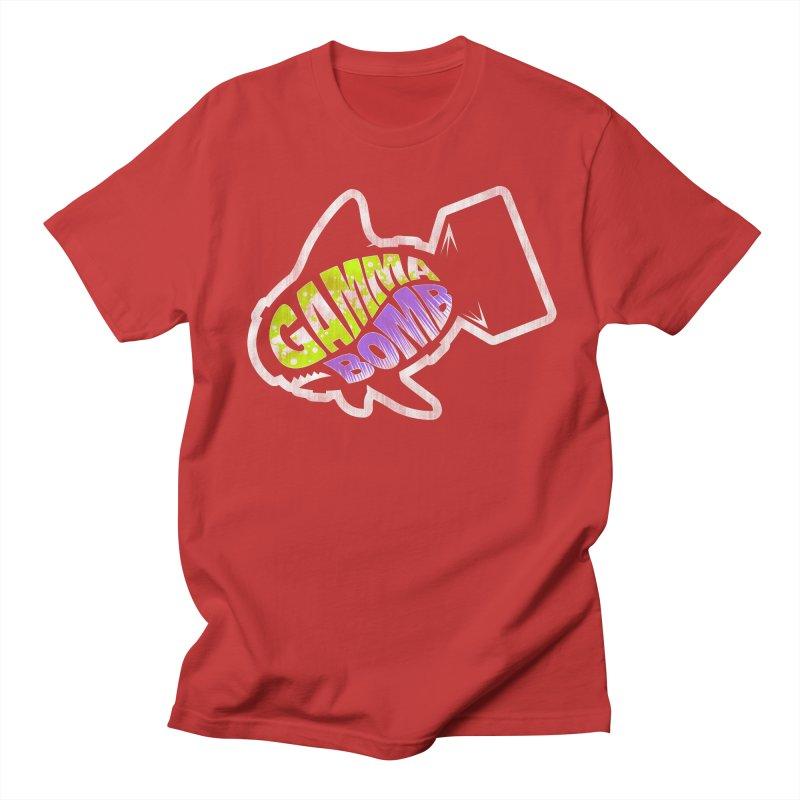 Gamma Bomb Logo Men's Regular T-Shirt by Gamma Bomb - A Celebration of Imagination