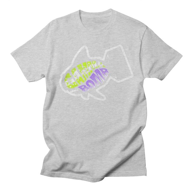 Gamma Bomb Logo Men's Regular T-Shirt by Gamma Bomb - Explosively Mutating Your Look