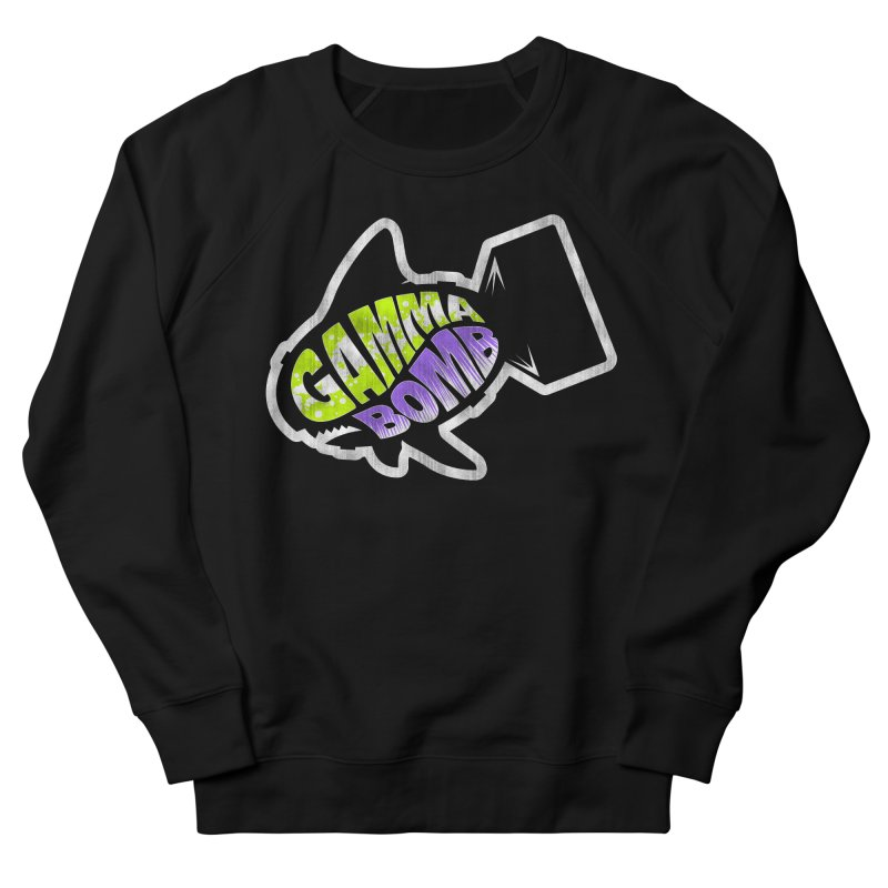 Gamma Bomb Logo Women's French Terry Sweatshirt by Gamma Bomb - Explosively Mutating Your Look